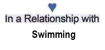 In a relationship with swimming