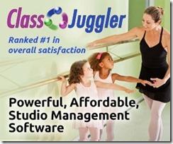 2015 ClassJuggler banner for dance informa