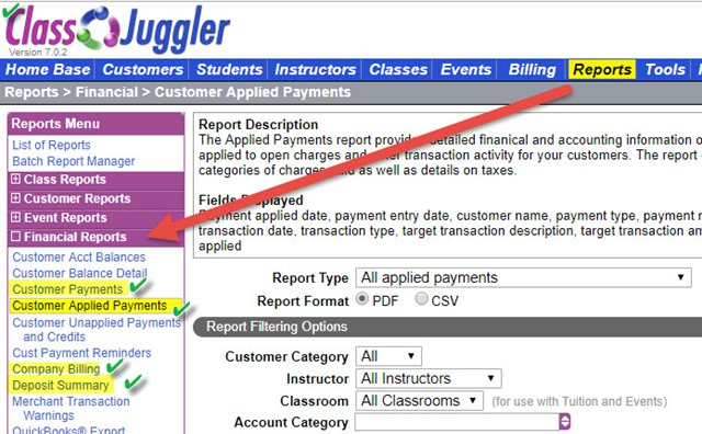 tax-reports-in-ClassJuggler