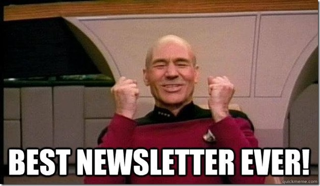 captain piccard best newsletter ever